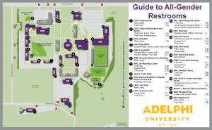 All Gender Restrooms | Gender Neutral Bathrooms | Adelphi University