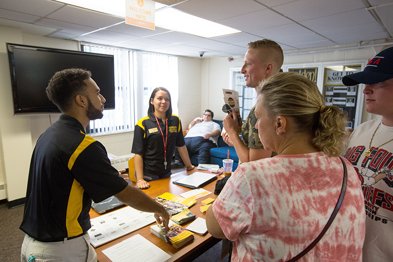 Move In Day Staff at Adelphi